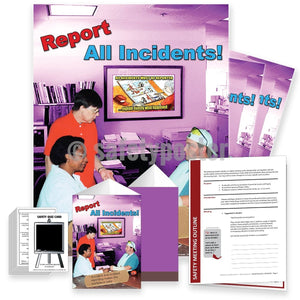 Safety Meeting Kit - Report All Incidents Kits