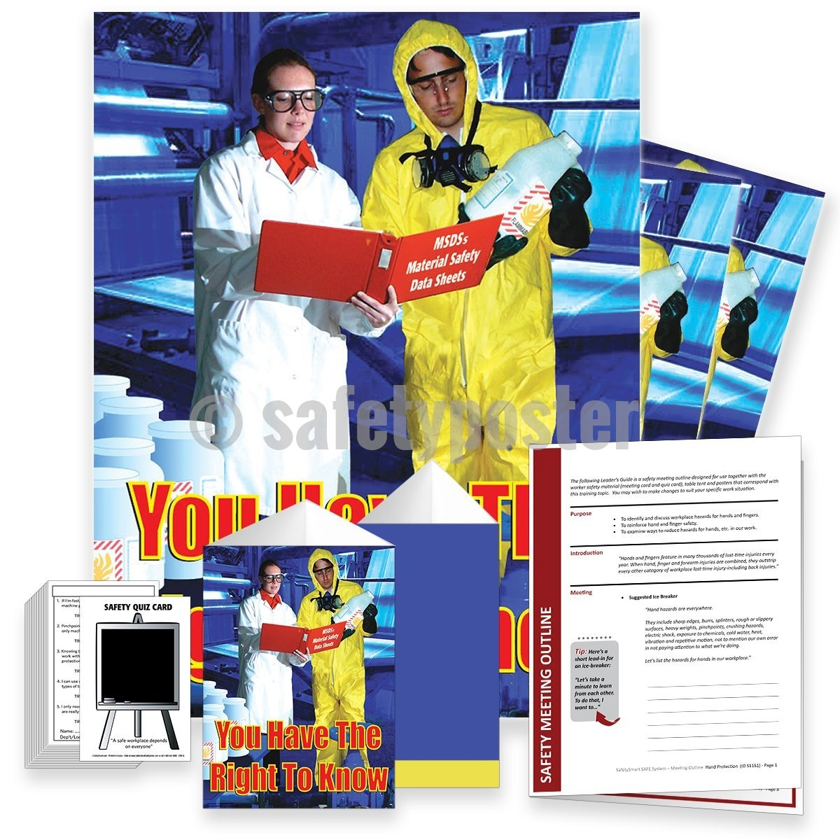 Safety Meeting Kit - You Have The Right To Know Msds Kits