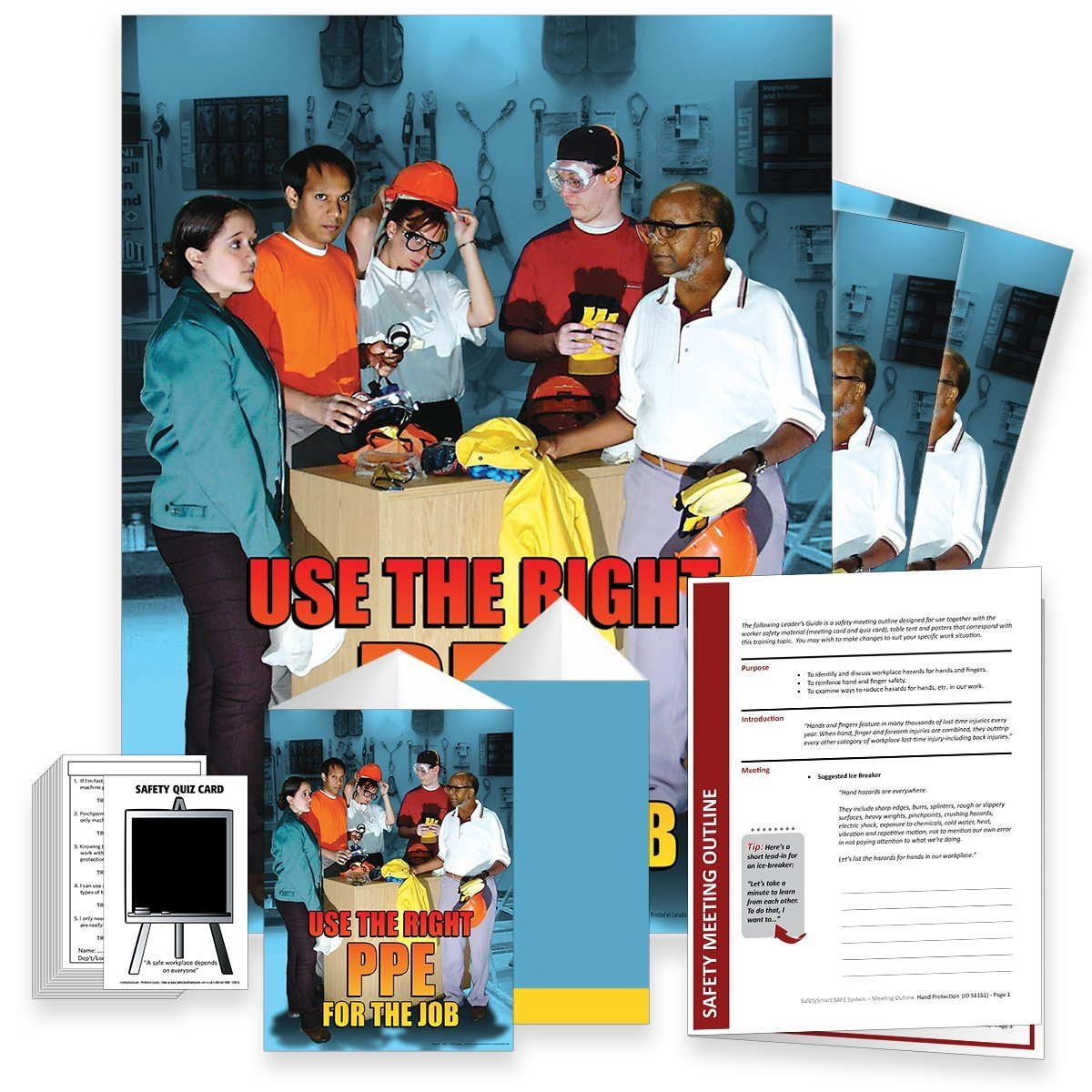 Safety Meeting Kit - Use The Right Ppe For Job Kits