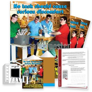 Safety Meeting Kit - No Task Should Cause Serious Discomfort Kits