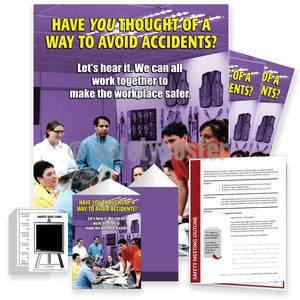 Safety Meeting Kit - Have You Thought Of A Way To Avoid Accidents Kits