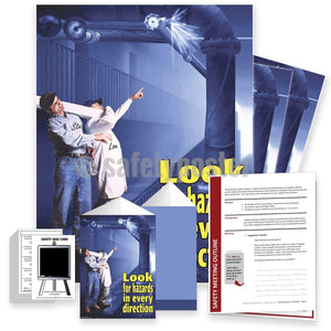 Safety Meeting Kit - Look For Hazards In Every Direction Kits