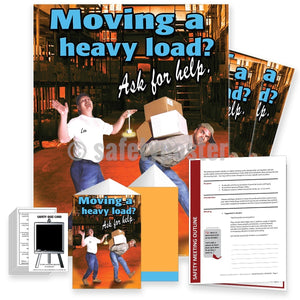 Safety Meeting Kit - Moving A Heavy Load Kits