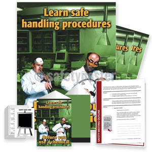 Safety Meeting Kit - Learn Safe Handling Procedures Before You Use A Chemical Kits