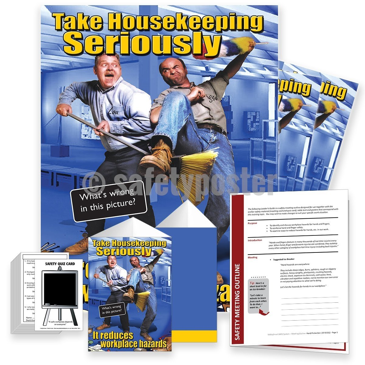 Safety Meeting Kit - Take Housekeeping Seriously Kits