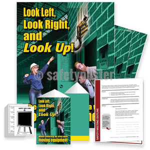 Safety Meeting Kit - Look In An Area With Moving Equipment Kits
