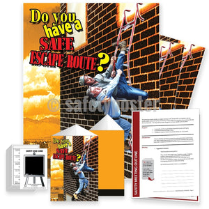Safety Meeting Kit - Do You Have A Safe Escape Route Kits