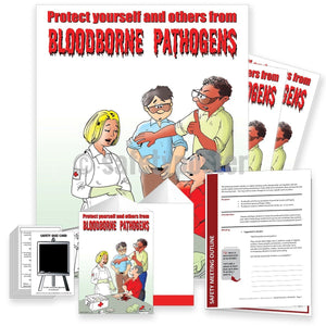 Safety Meeting Kit - Protect Yourself And Others From Bloodborne Pathogens Kits