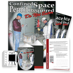 Safety Meeting Kit - Confined Space Permit Required Kits