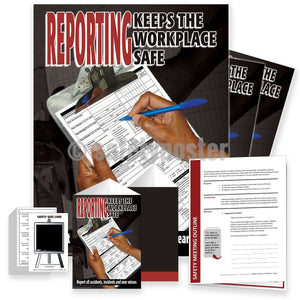 Safety Meeting Kit - Reporting Keeps The Workplace Safe Kits