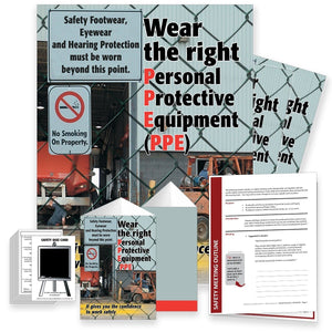 Safety Meeting Kit - Wear The Right Personal Protective Equipment Kits