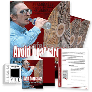 Safety Meeting Kit - Avoid Heat Stress Air And Water Kits