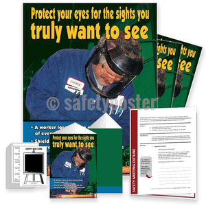 Safety Meeting Kit - Protect Your Eyes For The Sights You Truly Want To See Kits