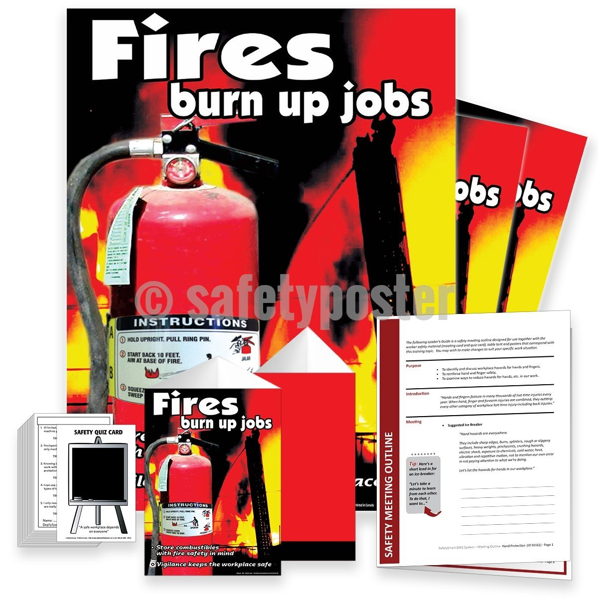 Safety Meeting Kit - Fires Burn Up Jobs Kits