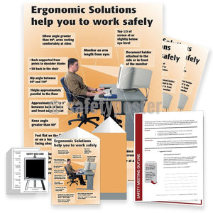 Safety Meeting Kit - Ergonomic Solutions Help You Work Safely Kits