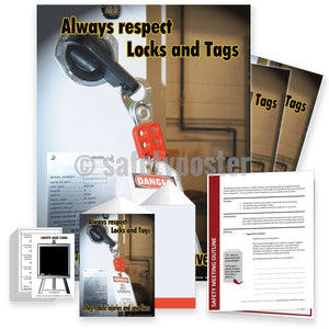 Safety Meeting Kit - Always Respect Locks And Tags Kits