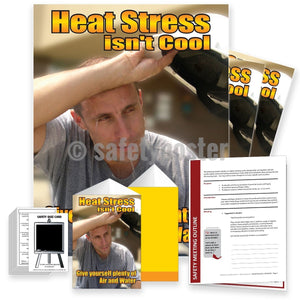 Safety Meeting Kit - Heat Stress Isnt Cool Kits