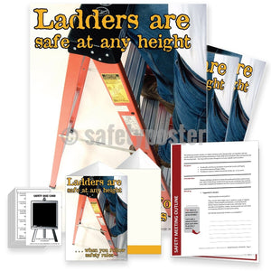Safety Meeting Kit - Ladders Are Safe At Any Height