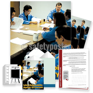 Safety Meeting Kit - Responsibility Depends On Everyone Kits