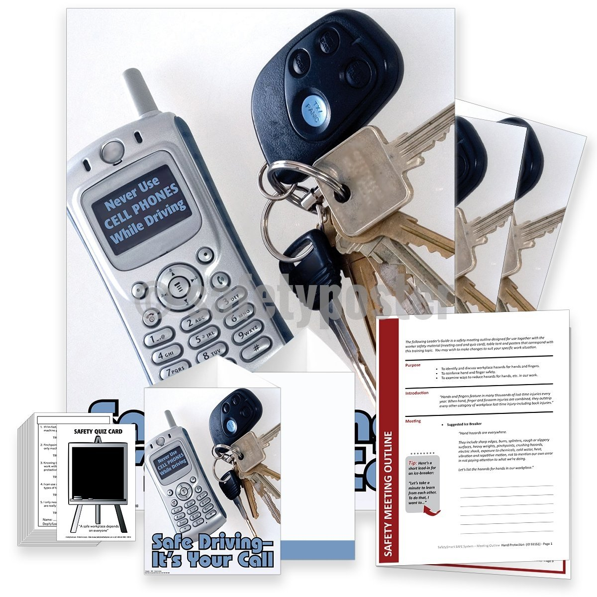 Safety Meeting Kit - Safe Driving Its Your Call Kits