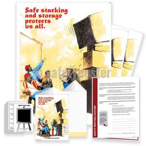 Safety Meeting Kit - Safe Stacking And Storage Protects Us All