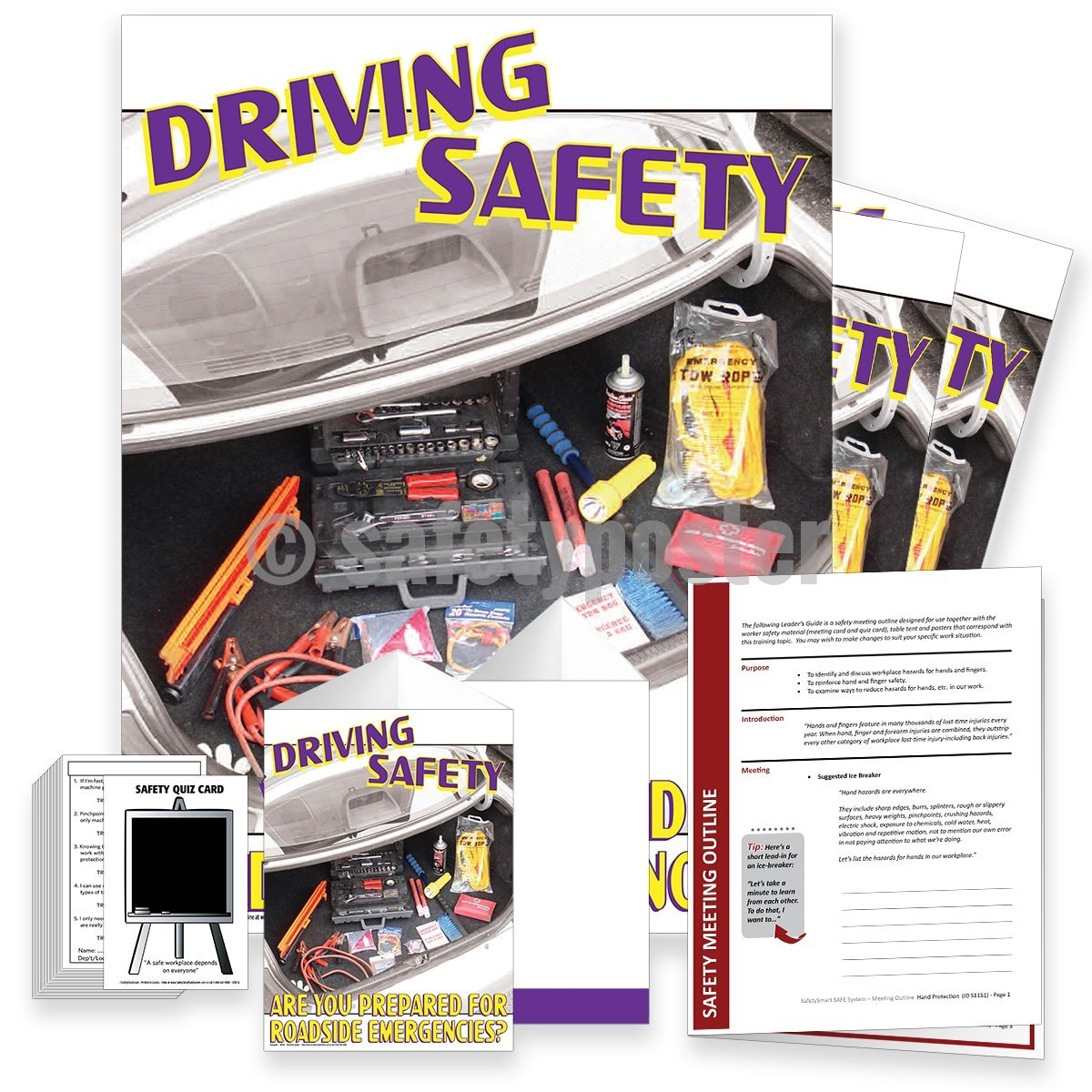Safety Meeting Kit - Roadside Emergencies Kits