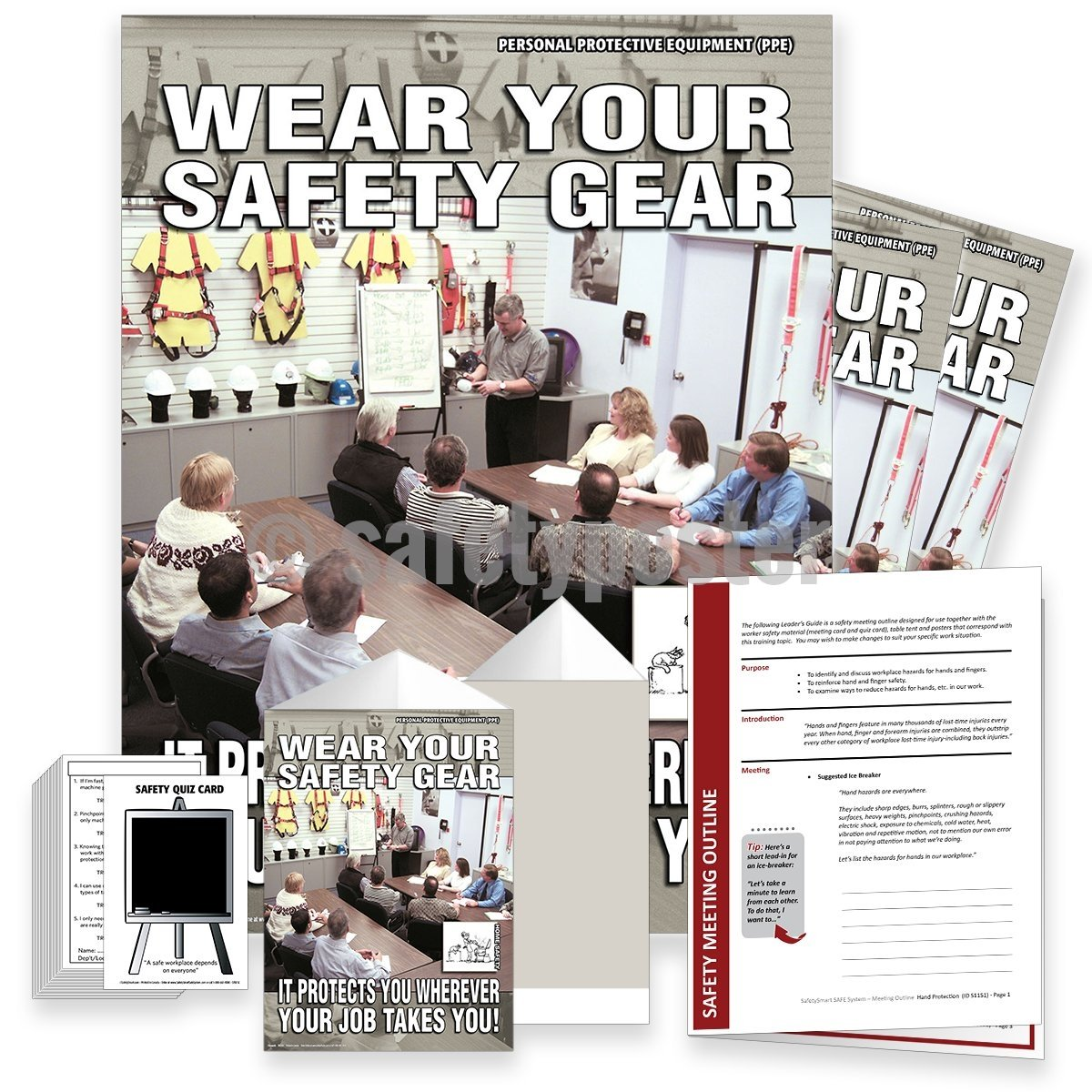 Safety Meeting Kit - Wear Your Safety Gear