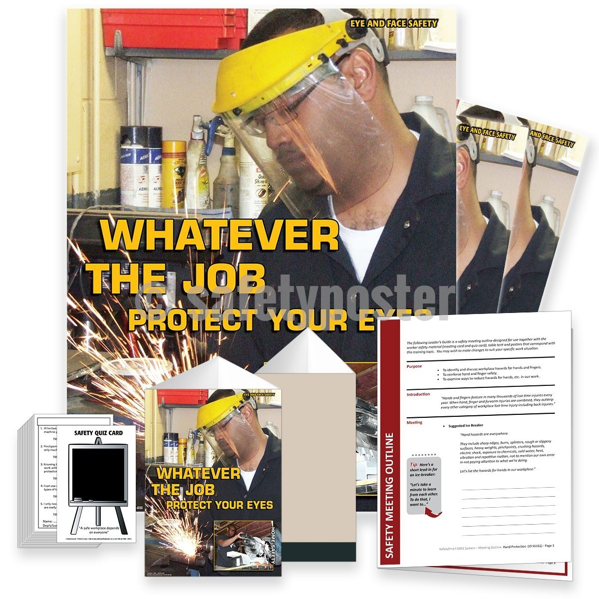 Safety Meeting Kit - Whatever The Job Protect Your Eyes Kits
