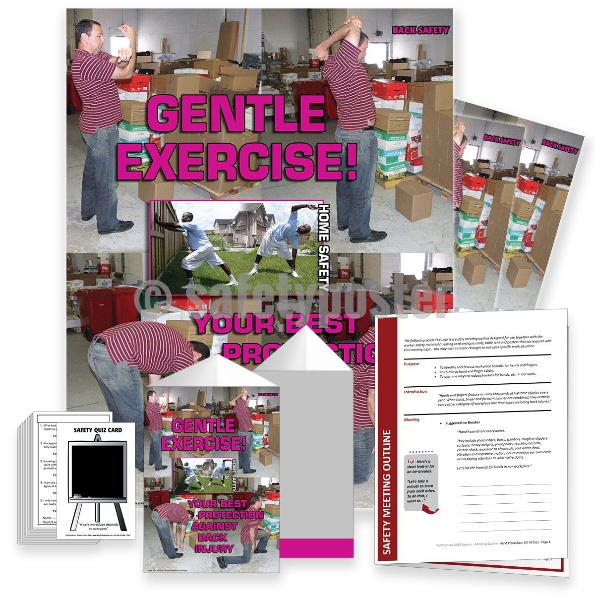 Safety Meeting Kit - Gentle Exercise Kits