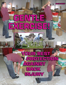 Safety Poster - Gentle Exercise - safetyposter.com