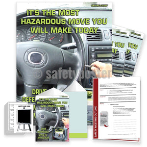 Safety Meeting Kit - Drive Defensively To Arrive Alive Kits