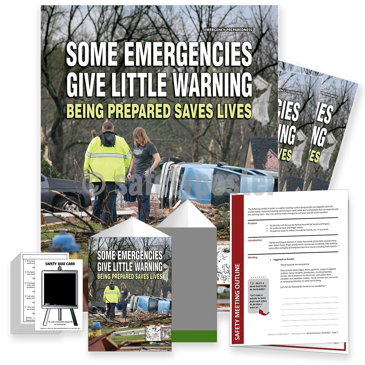 Safety Meeting Kit - Being Prepared Saves Lives Kits