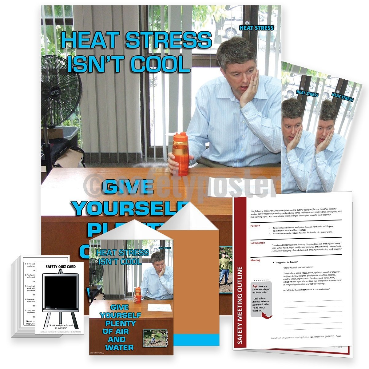 Safety Meeting Kit - Heat Stress Isnt Cool Home Kits