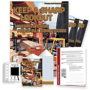 Safety Meeting Kit - Keep A Sharp Lookout Kits