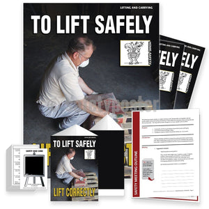 Safety Meeting Kit - To Lift Safely Lift Correctly