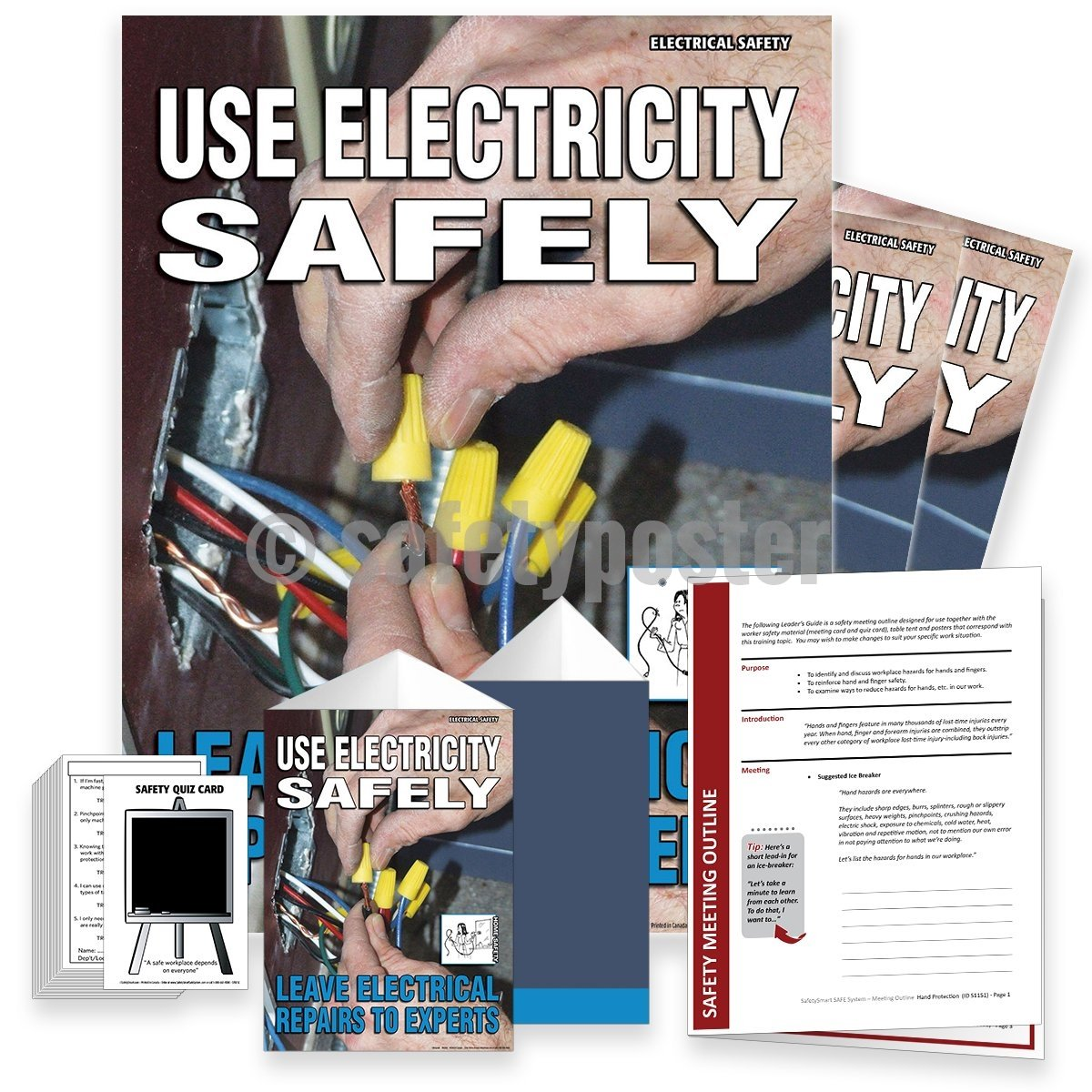 Safety Meeting Kit - Use Electricity Safely Kits