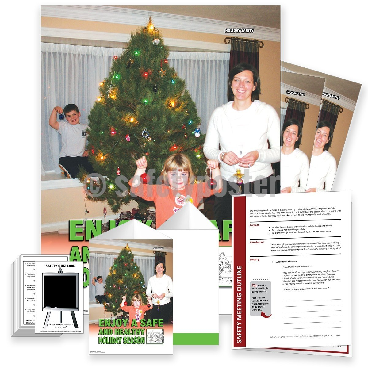 Safety Meeting Kit - Enjoy A Safe And Healthy Holiday Season