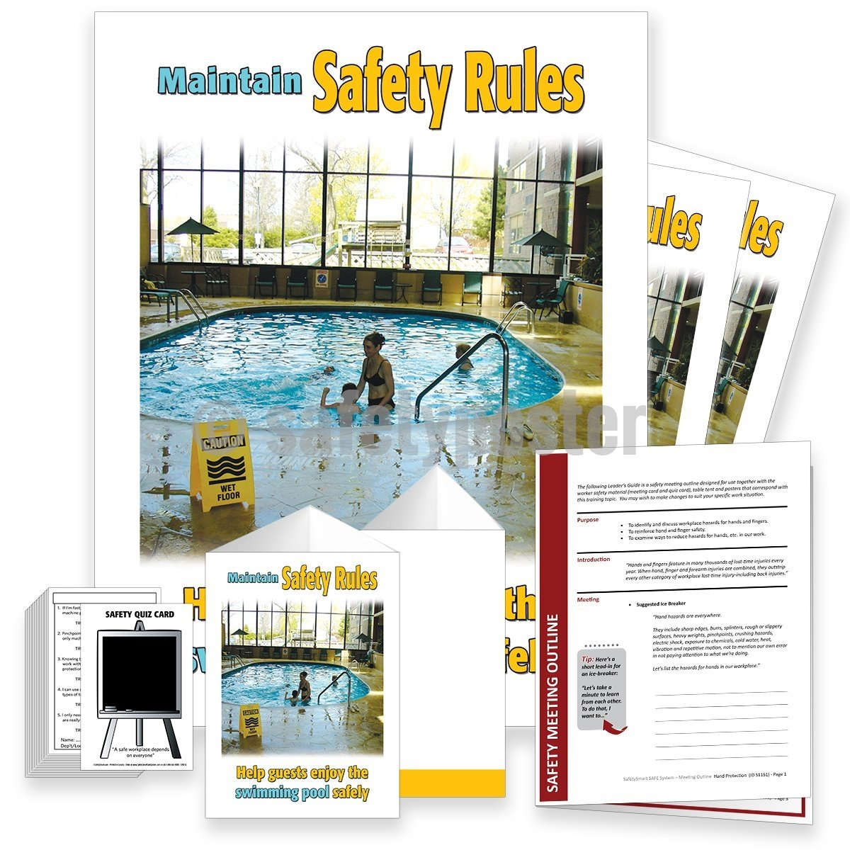 Safety Meeting Kit - Maintain Rules Kits