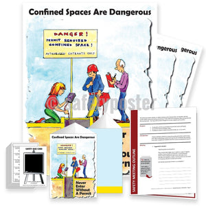 Safety Meeting Kit - Confined Spaces Can Kill Kits