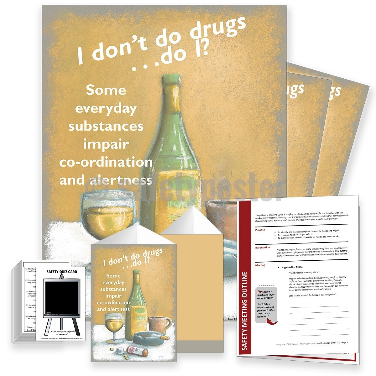 Safety Meeting Kit - Workplace Drug And Alcohol Abuse Kits