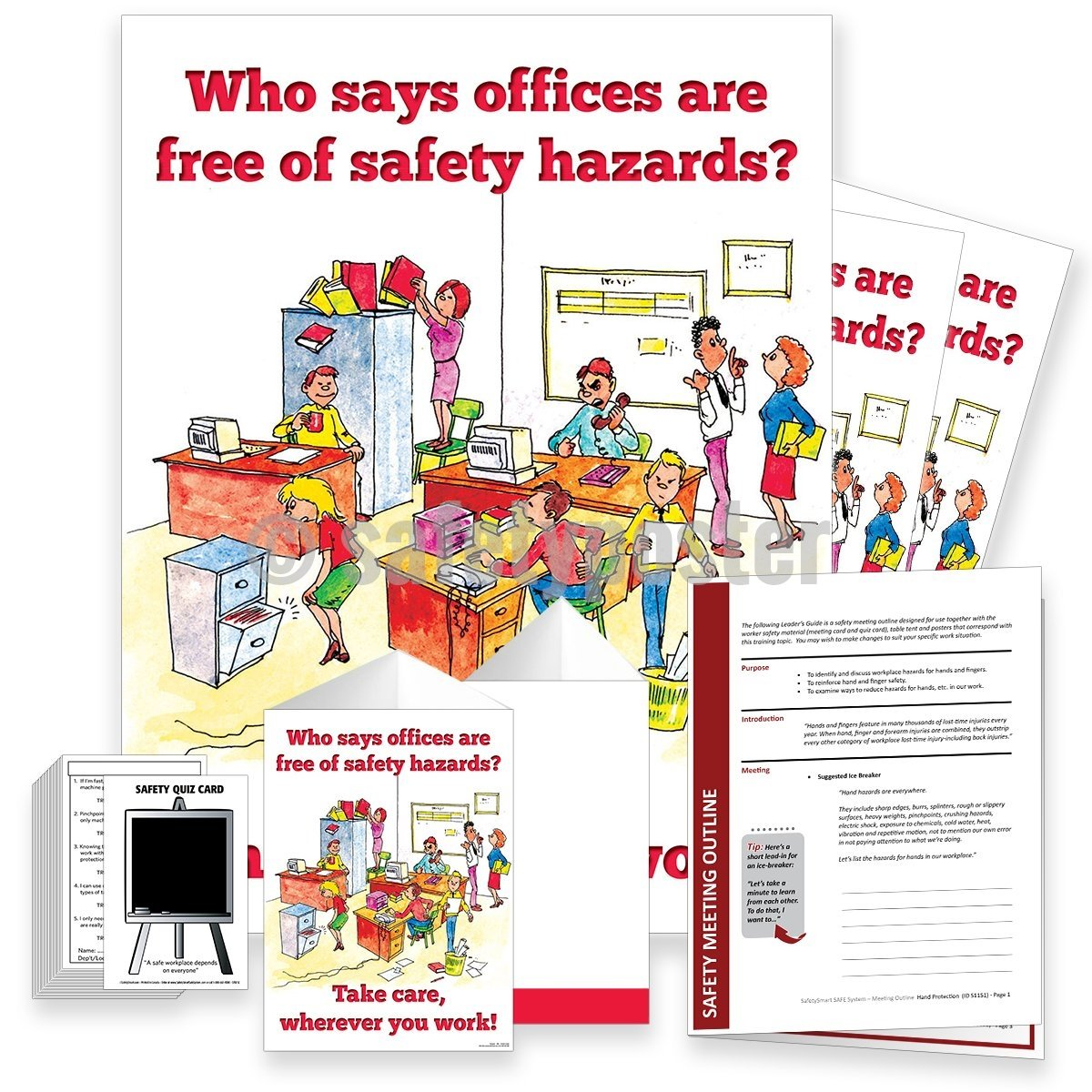 Safety Meeting Kit - Who Says Offices Are Free Of Hazards Kits