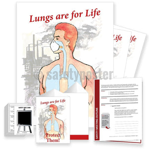Safety Meeting Kit - Lungs Are For Life Protect Them Kits