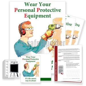 Safety Meeting Kit - Wear Your Personal Protective Equipment Kits