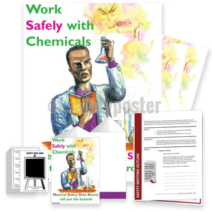 Safety Meeting Kit - Work Safely With Chemicals Kits