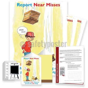 Safety Meeting Kit - Report Near Misses Kits
