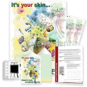 Safety Meeting Kit - Its Your Skin Shield It Kits