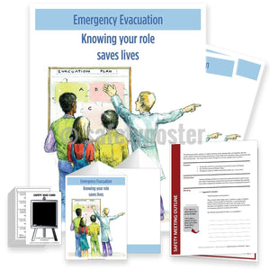 Safety Meeting Kit - Emergency Evacuation Know Your Role
