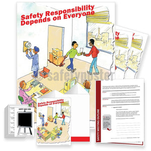 Safety Meeting Kit - Responsibility Depends On Everyone Office Kits