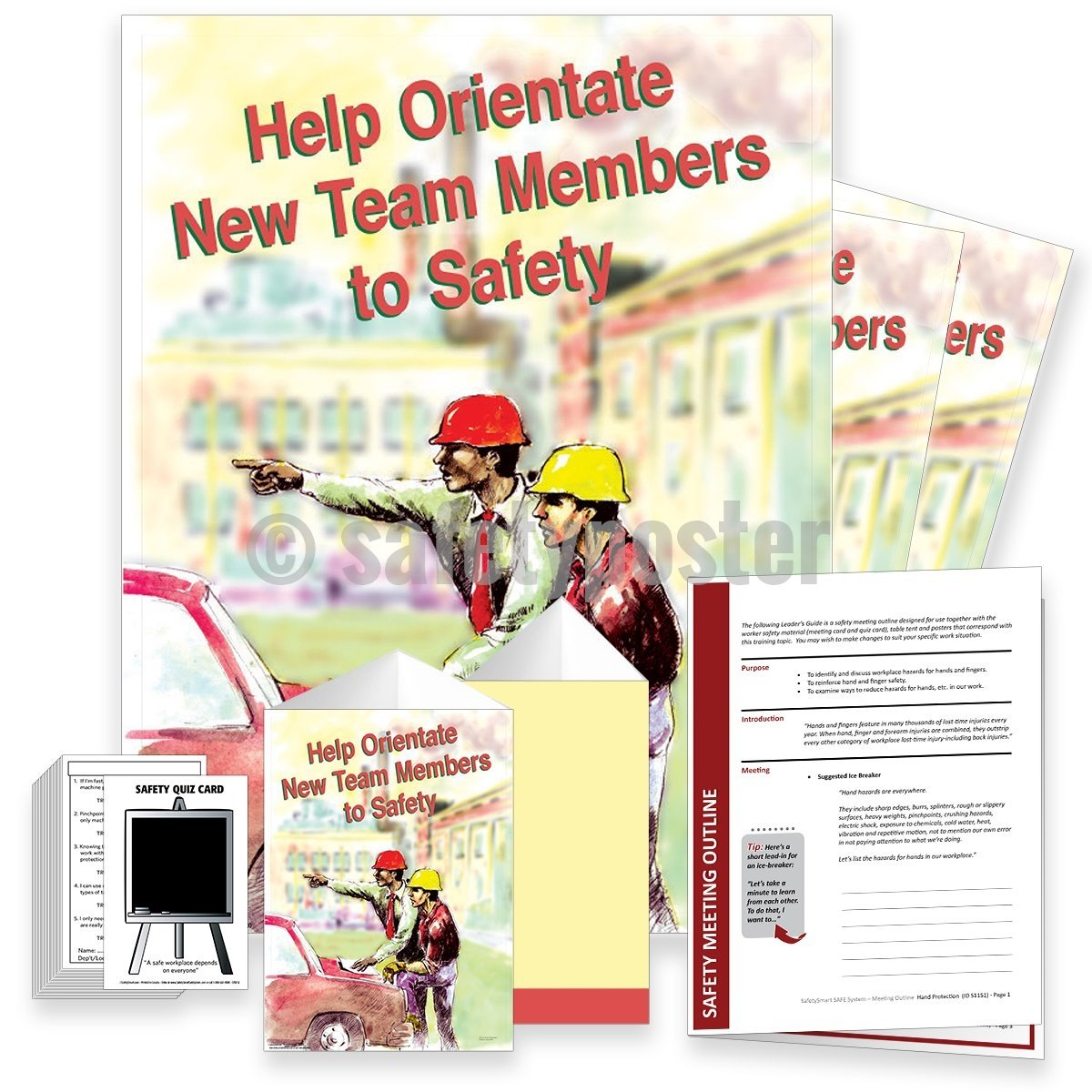 Safety Meeting Kit - Help Orientate New Team Members To Kits