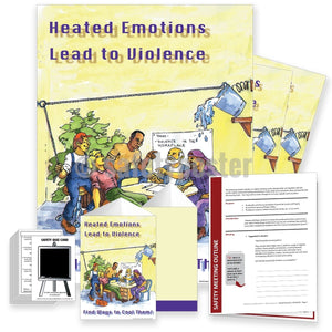 Safety Meeting Kit - Heated Emotions Lead To Violence Kits
